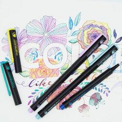 Chameleon Fineliner Çoklu Renk Sistemli Kalem 0.3mm 6lı Floral - Thumbnail
