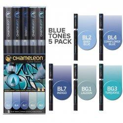 Chameleon - Chameleon Marker Kalem 5li Set Blue Tones