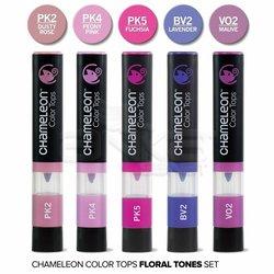 Chameleon - Chameleon Color Tops Marker Kalem 5li Set Floral Tones (1)