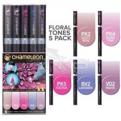 Chameleon - Chameleon Marker Kalem 5li Set Floral Tones