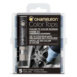 Chameleon Color Tops Marker Kalem 5li Set Gray Tones - Thumbnail