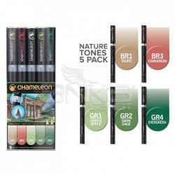Chameleon - Chameleon Marker Kalem 5li Set Naturel Tones
