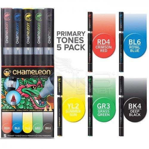 Chameleon Marker Kalem 5li Set Primary Tones