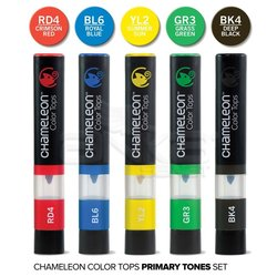 Chameleon - Chameleon Color Tops Marker Kalem 5li Set Prınary Tones (1)