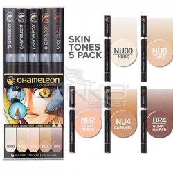 Chameleon - Chameleon Marker Kalem 5li Set Skin Tones