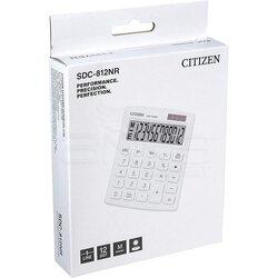 Citizen Hesap Hakinesi Beyaz SDC-812NR - Thumbnail