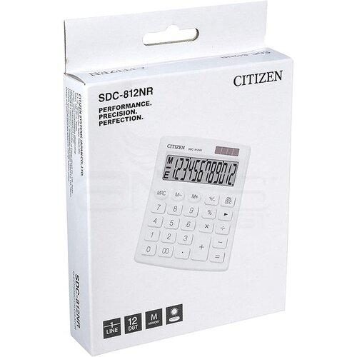 Citizen Hesap Hakinesi Beyaz SDC-812NR