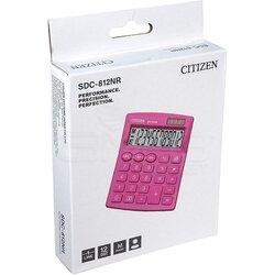 Citizen Hesap Hakinesi Pembe SDC-812NR - Thumbnail