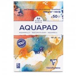 Clairefontaine - Clairefontaine Goldline Aquapad Cold Pressed Sulu Boya Blok 300g (1)
