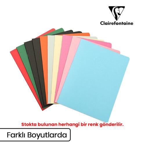 Clairefontaine Crok Book Tel Dikişli Beyaz Çizim Defteri 90g 24 Yaprak