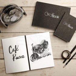 Clairefontaine - Clairefontaine Graf Book 360 Çizim Defteri 100 Yaprak 100g (1)