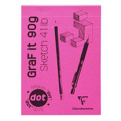 Clairefontaine - Clairefontaine Graf it Dot Noktalı Blok 90g 80 Yaprak (1)