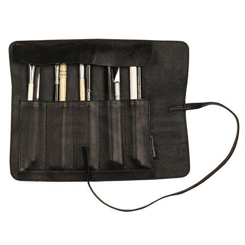 Clairefontaine Hakiki Deri Bağcıklı Sanatsal Çanta Siyah C930026