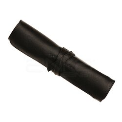 Clairefontaine - Clairefontaine Hakiki Deri Bağcıklı Sanatsal Çanta Siyah C930026 (1)