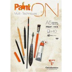 Clairefontaine Paint On Multi-Techniques Karışık Teknik Blok 250g 40 Yaprak - Thumbnail
