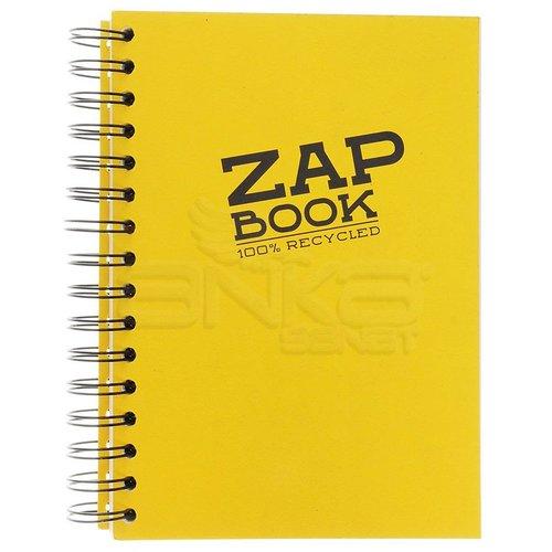 Clairefontaine Zap Book Uzun Kenarı Spiralli Sketch Defter 80g 160 Yaprak