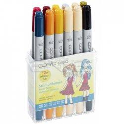 Copic - Copic Ciao Marker 12li Set School Uniforms