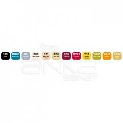 Copic Ciao Marker 12li Set School Uniforms - Thumbnail