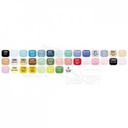 Copic - Copic Ciao Marker 36lı Set Brilliant Colors (1)