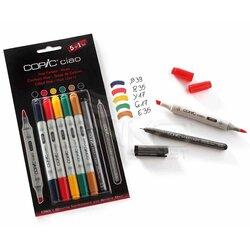 Copic Ciao Marker 5+1 Set Hues - Thumbnail