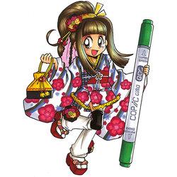 Copic - Copic Ciao Marker 5+1 Set Manga 8 (1)