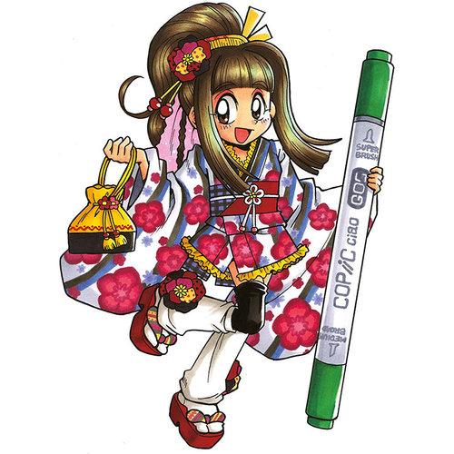 Copic Ciao Marker 5+1 Set Manga 8