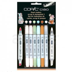 Copic Ciao Marker 5+1 Set Scrapbooking 1 - Thumbnail