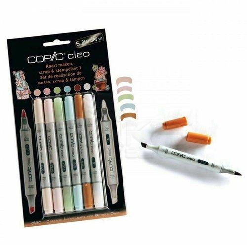 Copic Ciao Marker 5+1 Set Scrapbooking 1