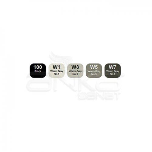 Copic Ciao Marker 5+1 Set Warm Tones