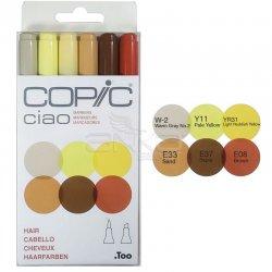 Copic Ciao Marker 6lı Set Hair - Thumbnail