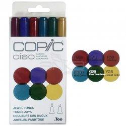 Copic - Copic Ciao Marker 6lı Set Jevel Tones