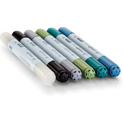 Copic - Copic Ciao Marker 6lı Set Sea (1)