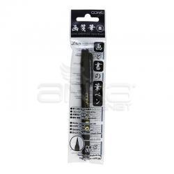 Copic - Copic Gasenfunde Nylon Brush Marker Siyah