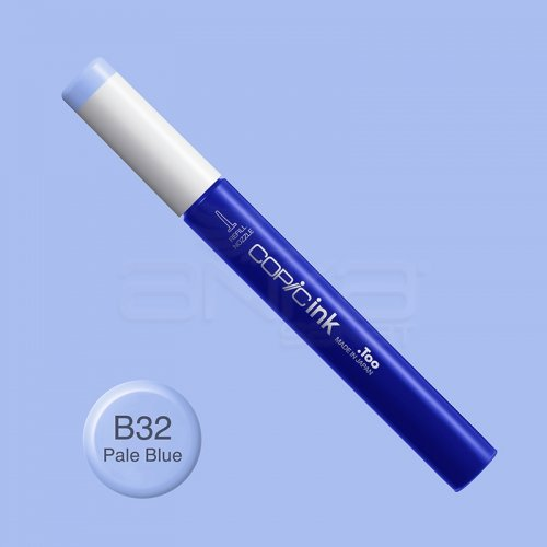 Copic İnk Refill 12ml B32 Pale Blue