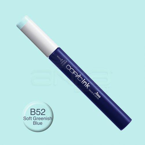 Copic İnk Refill 12ml B52 Soft Greenish Blue