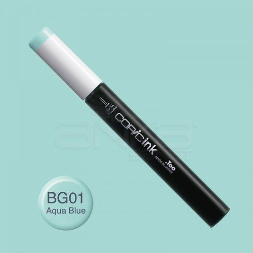 Copic İnk Refill 12ml BG01 Aqua Blue