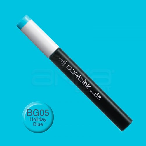 Copic İnk Refill 12ml BG05 Holiday Blue