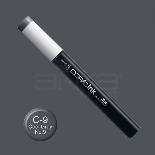 Copic İnk Refill 12ml C-9 Cool Gray No.9