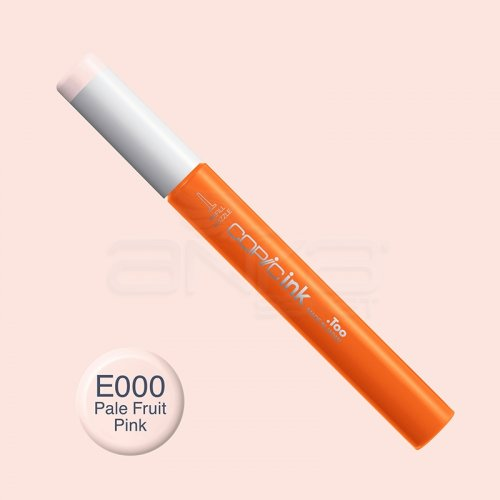 Copic İnk Refill 12ml E000 Pale Fruit Pink