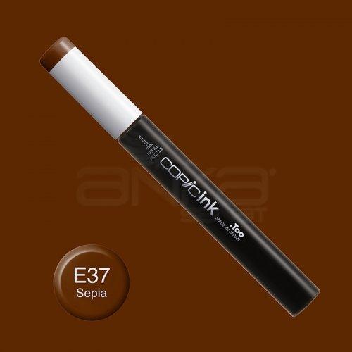 Copic İnk Refill 12ml E37 Sepia