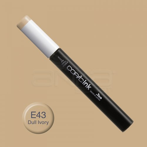 Copic İnk Refill 12ml E43 Dull Ivory
