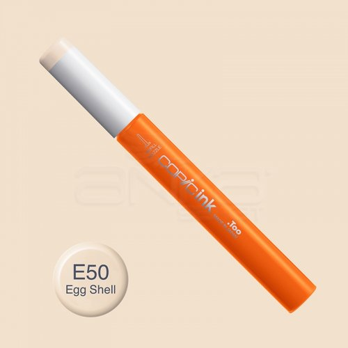 Copic İnk Refill 12ml E50 Egg Shell