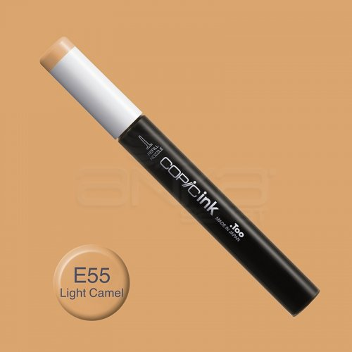 Copic İnk Refill 12ml E55 Light Camel