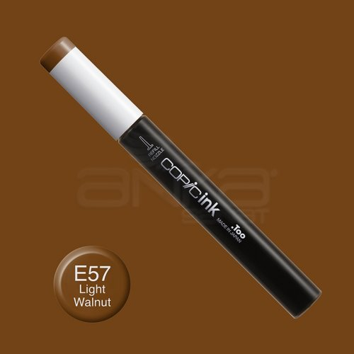 Copic İnk Refill 12ml E57 Light Walnut