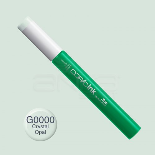 Copic İnk Refill 12ml G0000 Crystal Opal