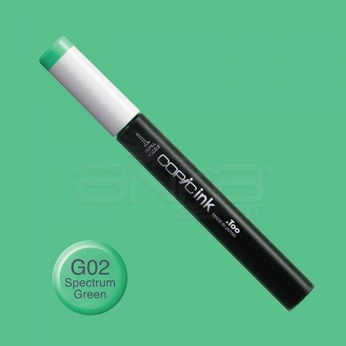 Copic İnk Refill 12ml G02 Spectrum Green
