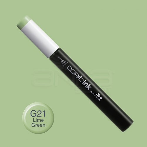 Copic İnk Refill 12ml G21 Lime Green