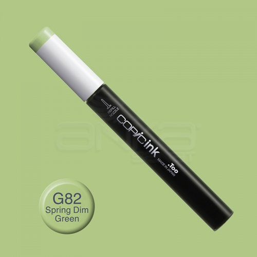 Copic İnk Refill 12ml G82 Spring Dim Green