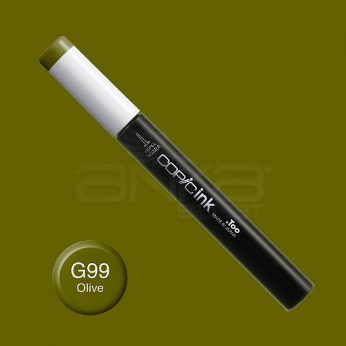 Copic İnk Refill 12ml G99 Olive