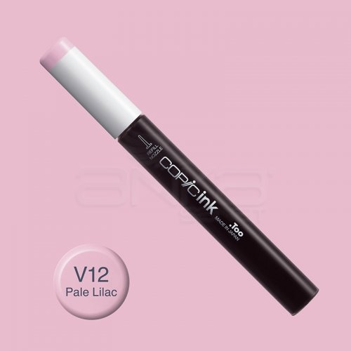 Copic İnk Refill 12ml V12 Pale Lilac